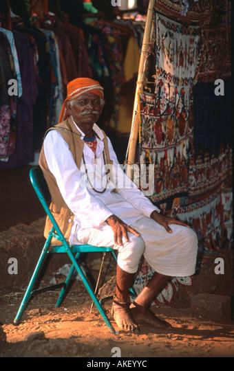 Indien, Goa, District Bardez, Calangute, - Stock-Bilder
