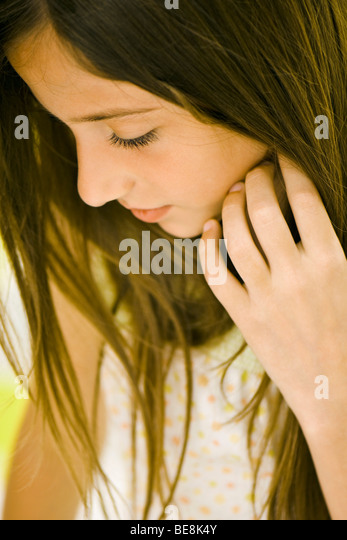 Teenage girl - Stock Image