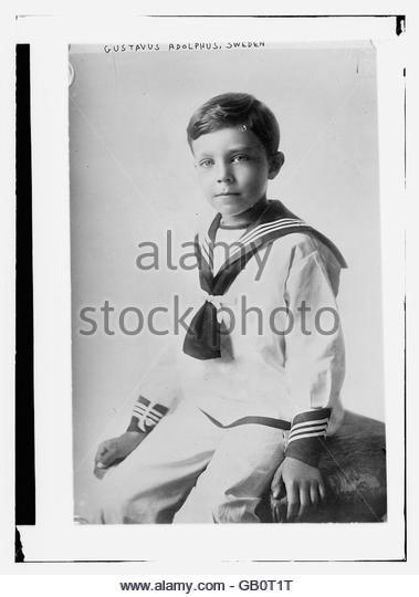 Gustavus Adolphus, Sweden - Stock Image