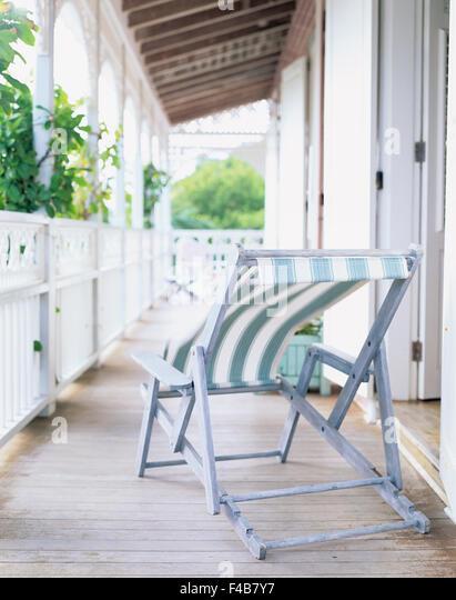 catalogue 2 color image fence house house detail porch sun chair Swedish catalogue 4 terrace vertical - Stock-Bilder