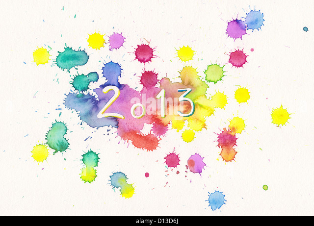 New Year 2013 - Stock Image