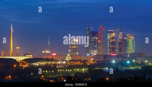 Moscow City - Stock-Bilder