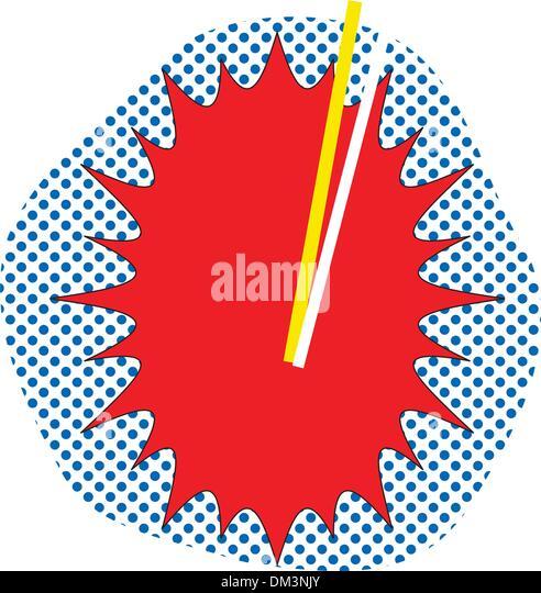 TNT Pop Art - Stock Image