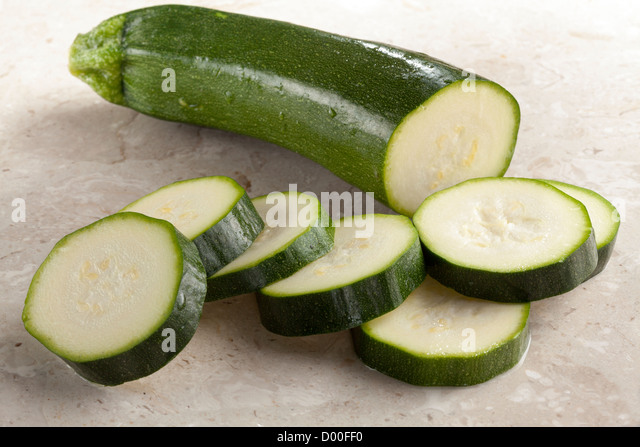Courgette - Stock Image