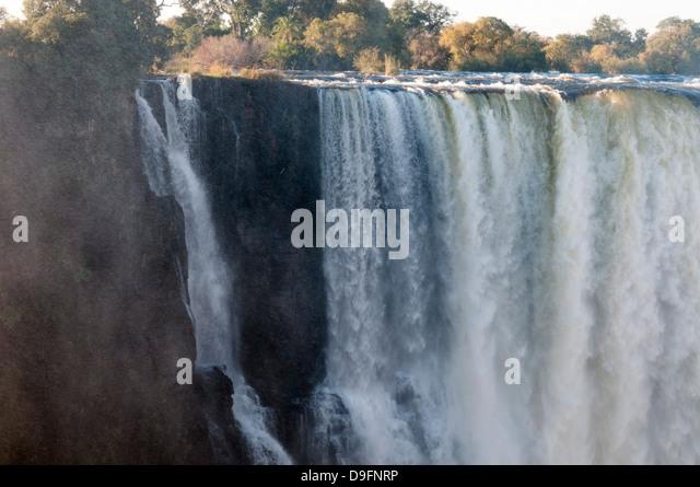 Victoria Falls, UNESCO World Heritage Site, Zimbabwe, Africa - Stock Image