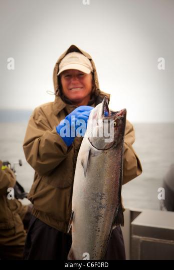 King Salmon, Sitka, Alaska - Stock Image