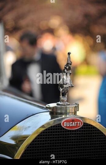 1930 Bugatti Royale type 41 mascot Artist: Simon Clay. - Stock Image
