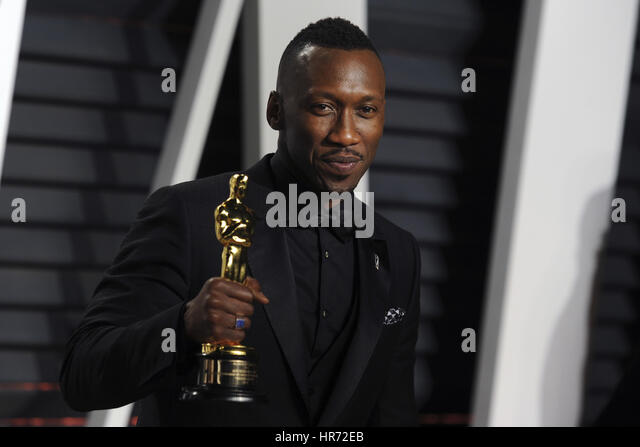 Beverly Hills, California. 26th Feb, 2017. Mahershala Ali attends the 2017 Vanity Fair Oscar Party hosted by Graydon - Stock-Bilder