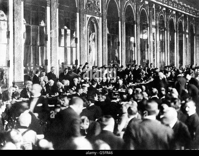 an examination of the facts of the 1919 treaty of versailles Keywords: weaknesses of the treaty of versailles on the 28th june 1919, germany resentfully signed the most famous treaty ever, versailles although years of readjusting the treaty followed, this essay will focus mainly on the strengths and weaknesses of the 440 articles in 1919 the treaty followed a massive war, with huge human sacrifice.