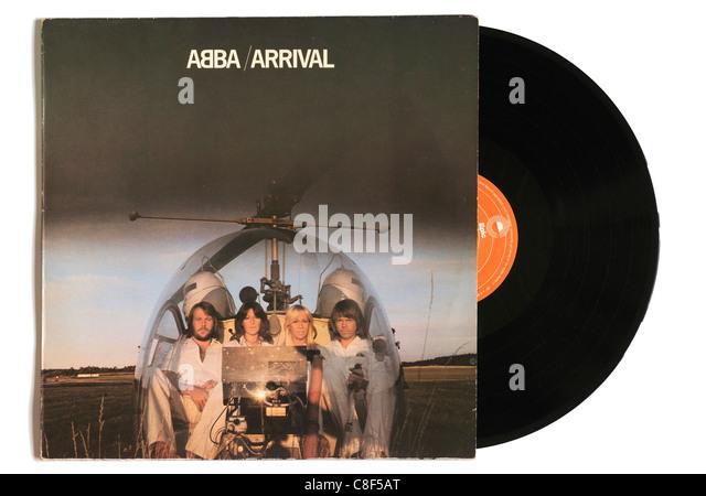 Abba Arrival album - Stock Image