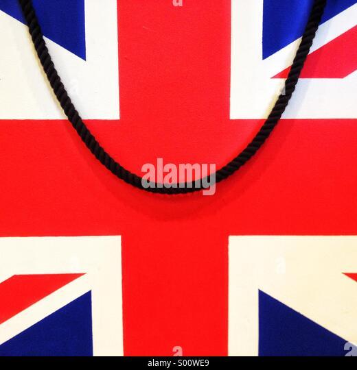 Union flag, UK - Stock Image