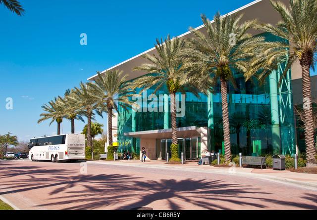 Orlando Florida,  Mall at Millenia upscale shopping mall and popular tourist destination - Stock Image