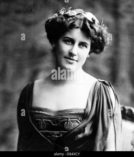 Suffragette Inez Milholland Boissevain - Stock Image