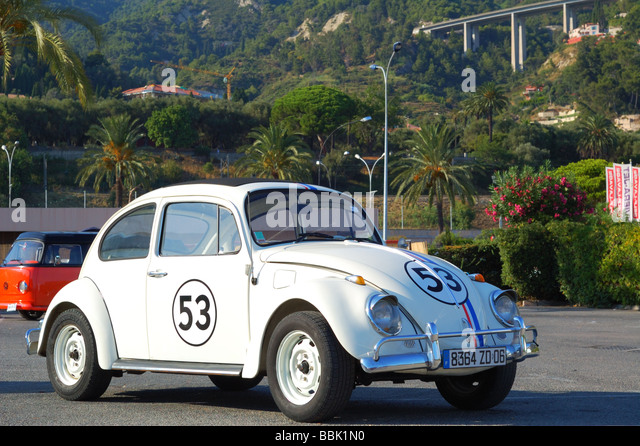 white volkswagen beetle stock photos white volkswagen. Black Bedroom Furniture Sets. Home Design Ideas