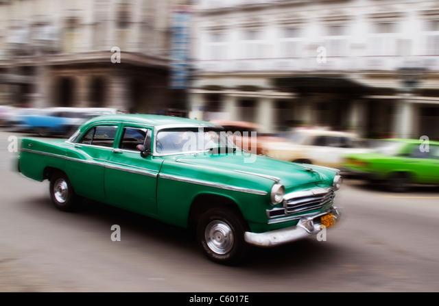 Oldtimer in Havanna Cuba - Stock-Bilder