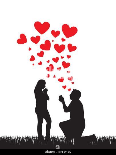 proposal wedding - Stock-Bilder