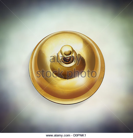 ring for assistance - Stock Image