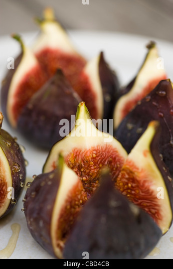 Fig dessert - Stock-Bilder