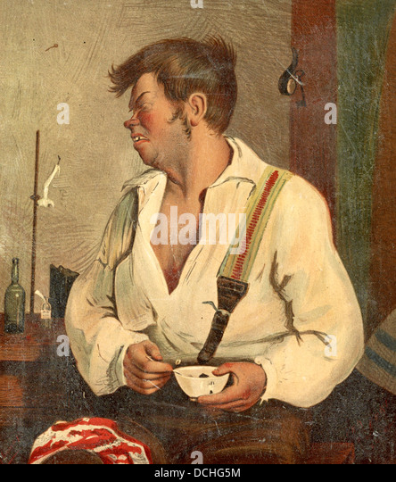 The wrong medicine - man making a face after eating medicine - Stock-Bilder
