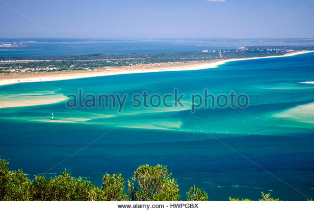 Troia in Setubal must be the caribbean of Portugal - Stock Image