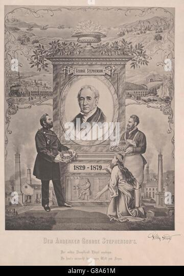 Stephenson, George - Stock Image