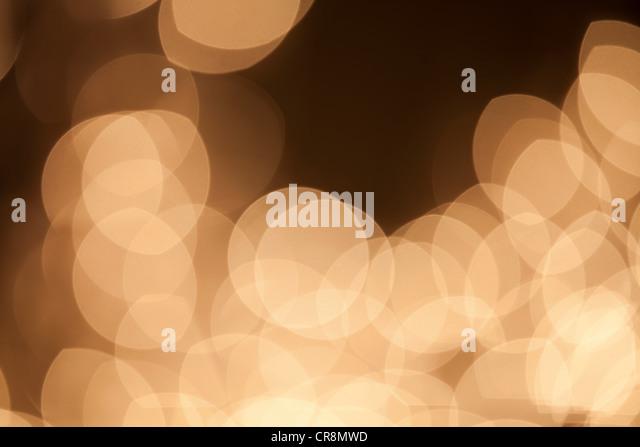 Abstract beige lights - Stock-Bilder