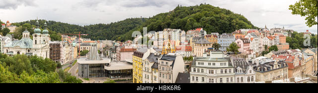 Karlovy Vary Czech Republic - Stock-Bilder
