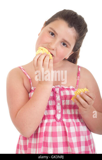 fat child eating chips stock photos amp fat child eating