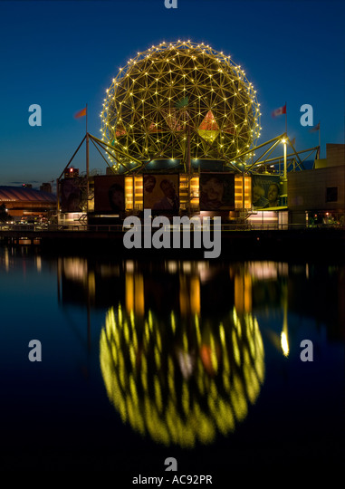 Telus World of Science, Vancouver, British Columbia, Canada - Stock Image