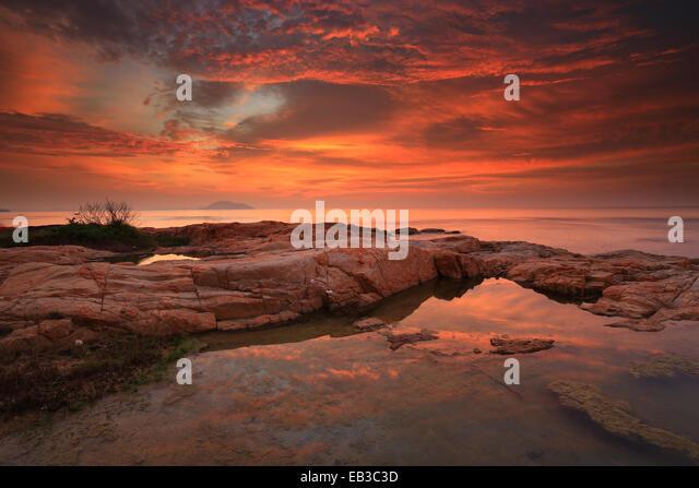 Indonesia, Colorful Singkawang - Stock Image