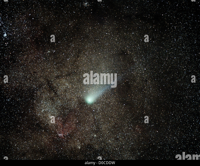 Comet Halley - Stock Image