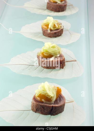 Asian tuna - Stock Image