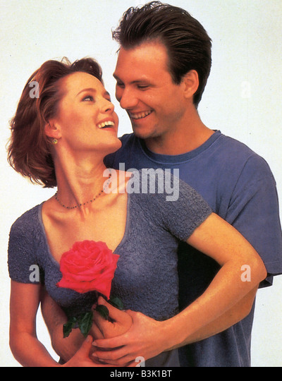 BED OF ROSES  1995 Entertainment film with Christian Slater and Mary Stuart Masterson - Stock Image