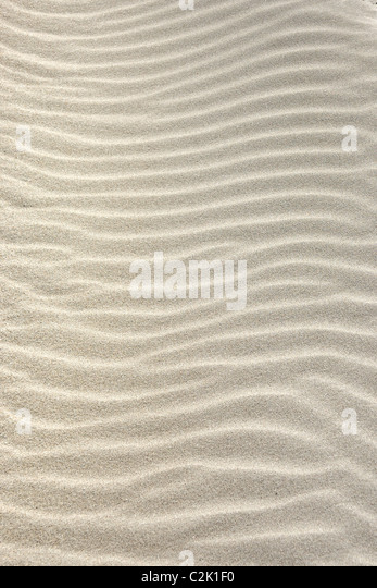 Ripples In The Sand - Stock Image