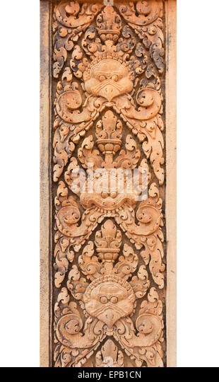 Stone surface carved stock photos