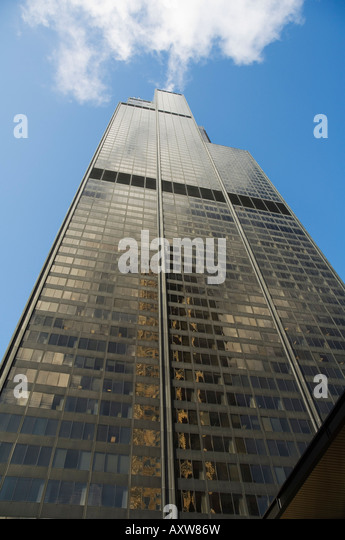 Sears Tower, Chicago, Illinois, USA - Stock Image