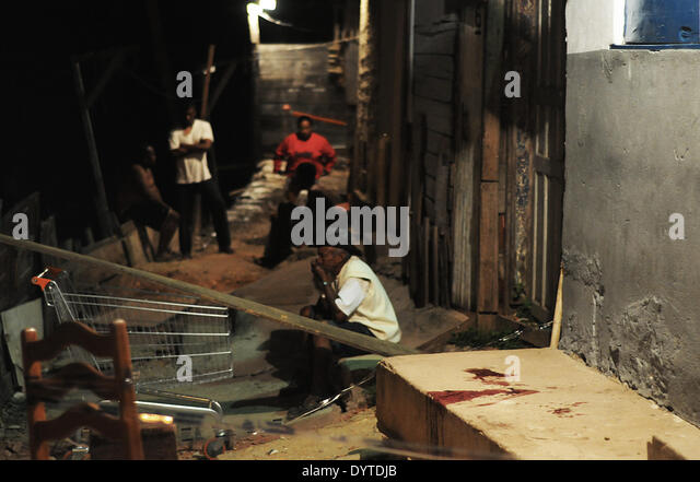 Violent Sao Paulo - Stock Image