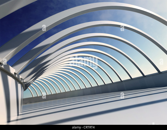 Architecture Abstract - Stock Image