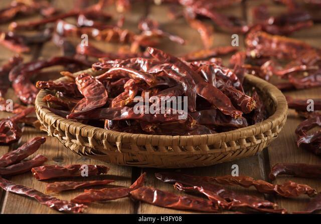 Kashmiri chillies - Stock Image