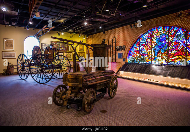 Foyer Museum Usa : Firemens stock photos images alamy