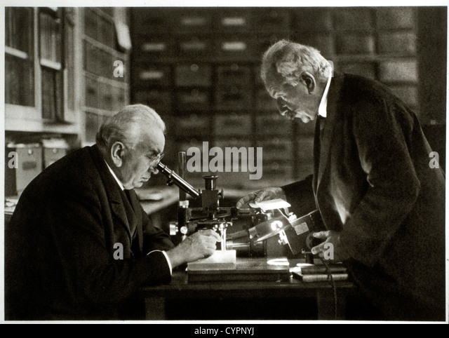 Louis Jean (1864-1948) and Auguste (1862-1954) Lumiere, Inventors of the Cinematographe - Stock Image