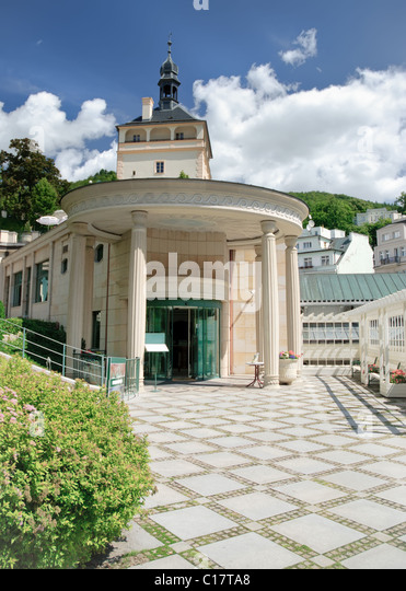 Spa in health resort at Karlovy Vary - Stock-Bilder