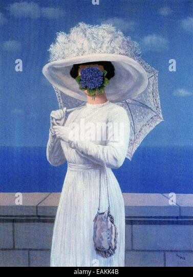 René Magritte  The Great War - Stock Image