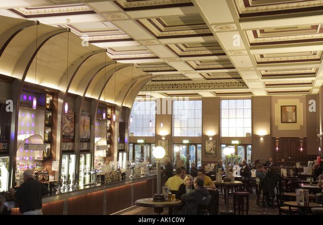 England UK Harrogate The Winter Gardens restaurant pub former Royal Baths - Stock Image