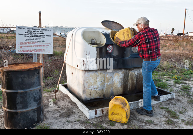 Waste oil stock photos waste oil stock images alamy for Used motor oil pickup