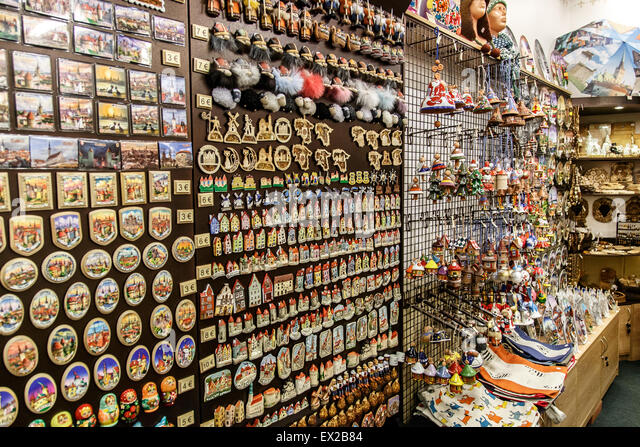Lovely TALLINN, ESTONIA   APRIL 25, 2015 : Close Up Interior View Of Small Souvenir