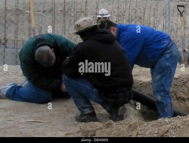 Constructors workers. - Stock-Bilder