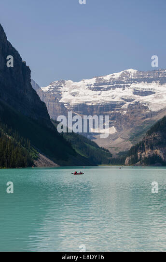 Lake Louise, Alberta Canada - Stock Image