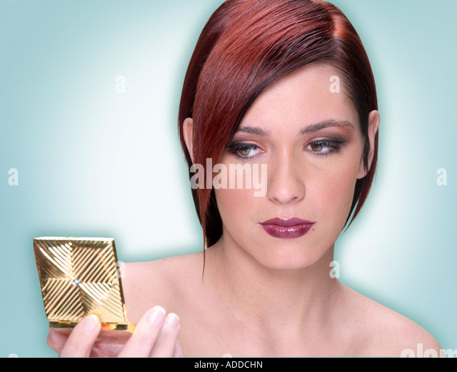 Woman Makeup - Stock Image