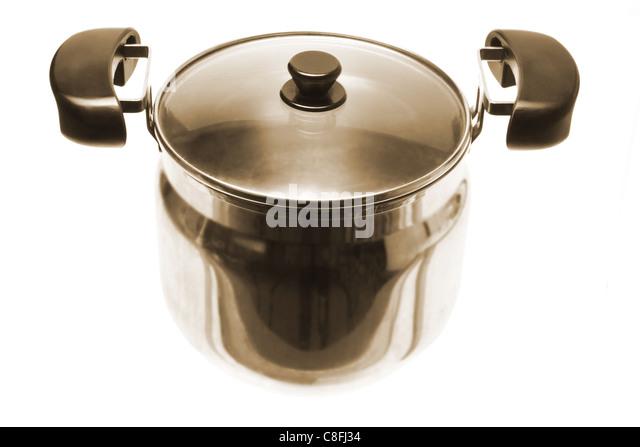 Cooking Pot - Stock Image